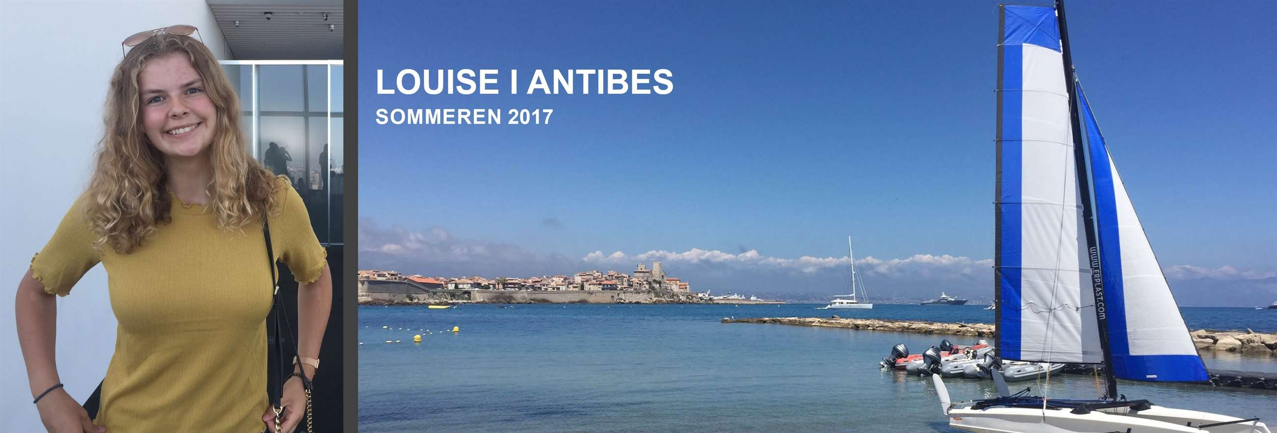 Louise i Antibes